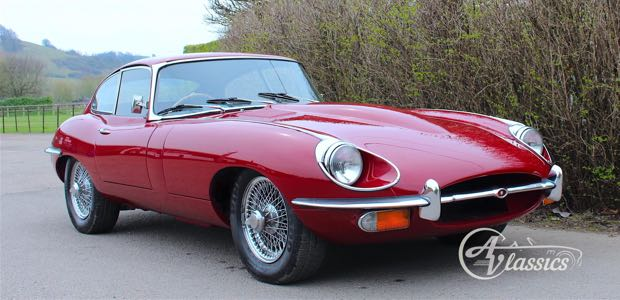 Jaguar E-Type S2 FHC