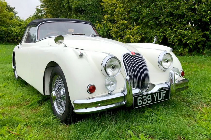 Turning a good Jaguar into a great Jaguar  – Jaguar XK150