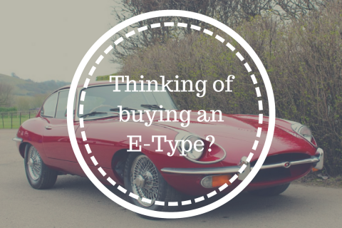 Thinking of buying an E-Type? – benefit from our years of experience first