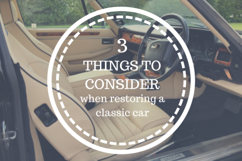 Three things to consider when restoring a classic car